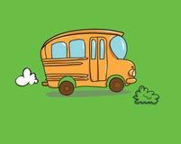 повезите школу на автобусе Стоковая Фотография RF