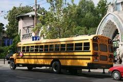повезите школу на автобусе Стоковое Изображение