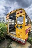 повезите школу на автобусе Стоковое Изображение RF