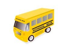 повезите школу на автобусе Стоковые Фотографии RF