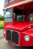 повезите routemaster на автобусе красного цвета london Отсутствие 14 Стоковая Фотография