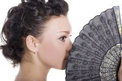 повелительница вентилятора Стоковые Фото