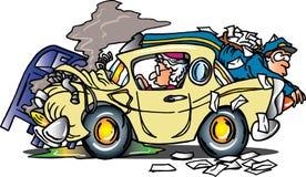 повелительница водителя старая Иллюстрация штока