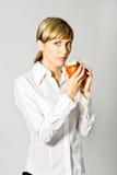 повелительница дела яблока Стоковые Изображения