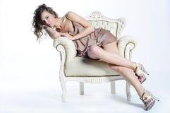 повелительница кресла Стоковые Изображения RF