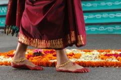повелительница ноги стоковая фотография