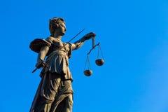 повелительница правосудия Стоковая Фотография RF