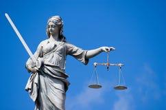 повелительница правосудия Стоковое Фото