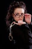 повелительница стекел shackles детеныши Стоковая Фотография RF