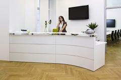 повелительница стола передняя Стоковые Фотографии RF