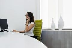 повелительница стола передняя Стоковые Изображения RF