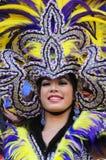 Повелительница с головным убором Стоковое Фото