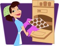 повелительница хлебопека Стоковое Изображение RF