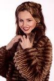 повелительница шерсти пальто стоковые фото