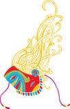 повелительница harlequin Стоковые Изображения