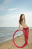 повелительница hula обруча Стоковое Изображение