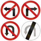 Поверните запреты в Польше Стоковая Фотография RF