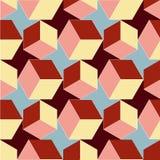 поверните кубы иллюстрация вектора