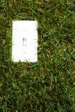 повернутый зеленый цвет энергии Стоковая Фотография