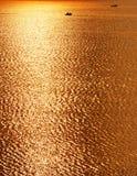 поверхностная вода цвета золотистая Стоковые Изображения