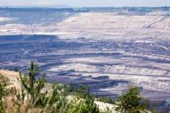 Поверхностная добыча угля Стоковая Фотография RF