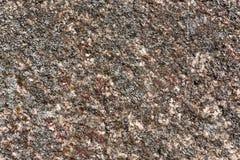 Поверхностное гранита перерастанное с мхом Стоковые Фото