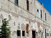 Поверхностные текстуры на старом историческом здании Стоковые Изображения