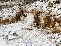 Поверхностный каменный карьер Стоковая Фотография