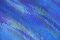 Поверхность абстрактной картины маслом деревянная яркой фантазии вычисляет Стоковое фото RF