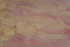 Поверхность абстрактной картины маслом деревянная Стоковая Фотография