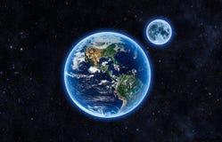 поверхность абстрактной планеты изображения земли земной ровная стоковое изображение rf