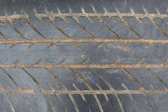 Поверхность автошины Стоковое Изображение RF