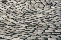 Поверхность вымощая камня Стоковая Фотография