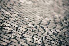 Поверхность вымощая камня Стоковое фото RF