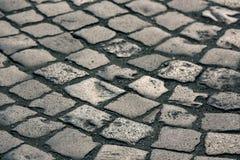 Поверхность вымощая камня Стоковое Фото
