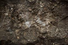 Поверхность грубого серого камня Стоковые Фото