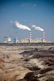 поверхность добычи угля Стоковые Изображения
