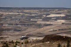 поверхность добычи угля Стоковое Изображение