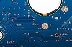 Поверхность жёсткого диска компьютера Стоковое Фото
