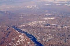 Поверхность земли, вид с воздуха Wanderlust и перемещение E Защита среды и экологичность Защитите стоковое фото