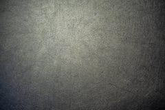 Поверхность конца-вверх цвета leatherette черного для текстурированной предпосылки стоковое фото