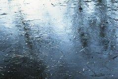 поверхность льда Стоковое Фото