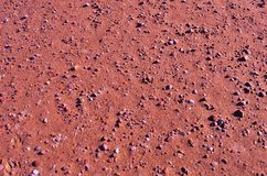 Поверхность Марса планеты ржавая Стоковое Фото