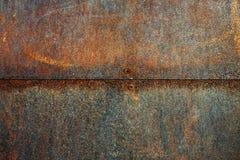 Поверхность металла ржавчины Стоковые Фотографии RF