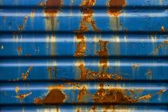 поверхность металла ржавая Стоковая Фотография RF