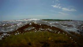 Поверхность морской воды акции видеоматериалы