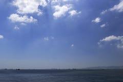 Поверхность моря лета Стоковое Изображение RF