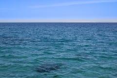 Поверхность 2 моря стоковые фото