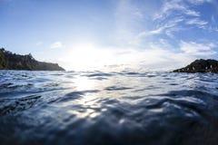 Поверхность моря стоковые изображения rf