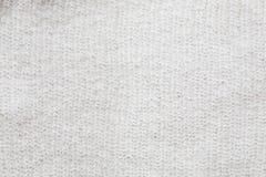 Поверхность мягкого белого mohair Стоковое Изображение